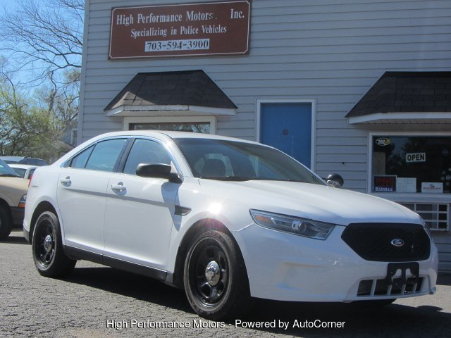 2013 Ford Taurus Police AWD 6-Speed Automatic